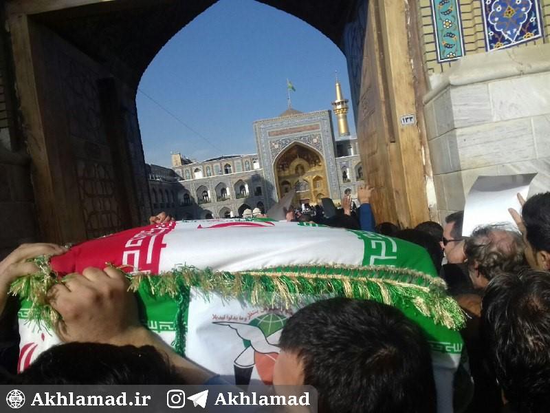 تشییع شهید حسین محرابی، شهید مدافع حرم