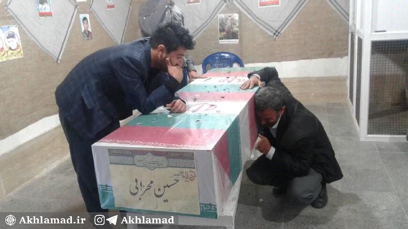 برادران شهید حسین محرابی، شهید مدافع حرم