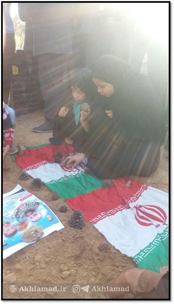 دختر شهید حسین محرابی، شهید مدافع حرم
