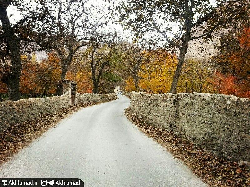 اخلمد، فصل پاییز، عکس از محمود آگاه