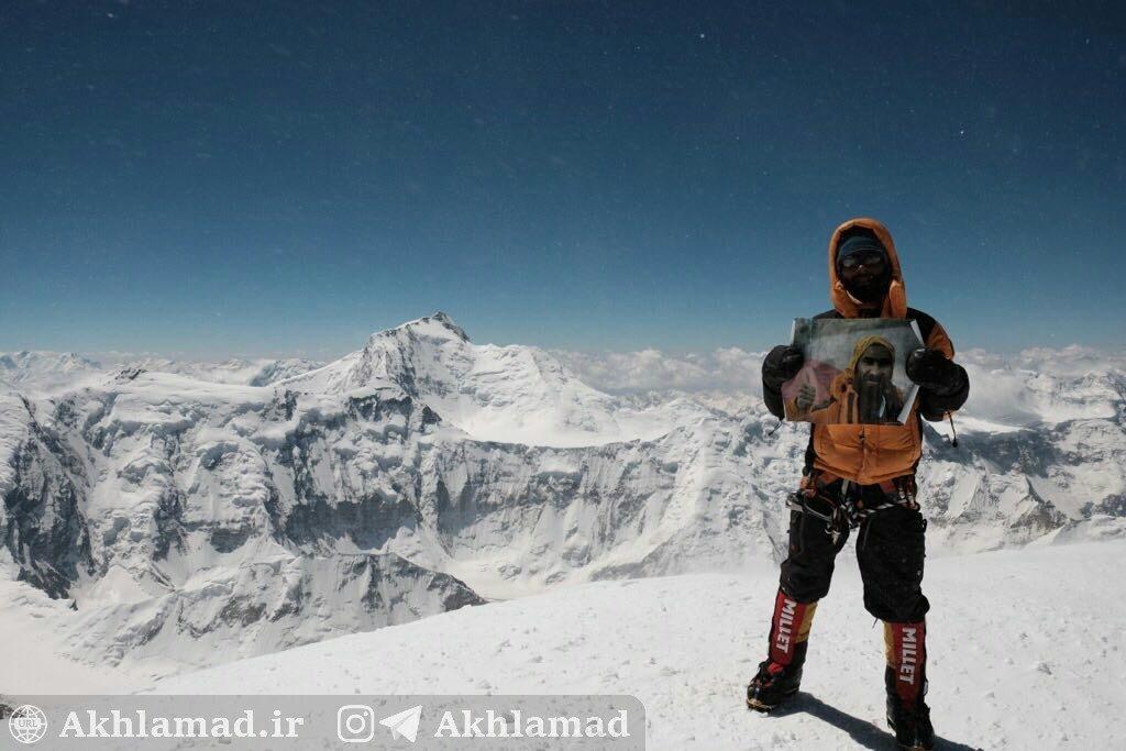 کوهنوردی؛ صعود نعمت فرخنده به هیمالیا، قله کورژن وسکایا