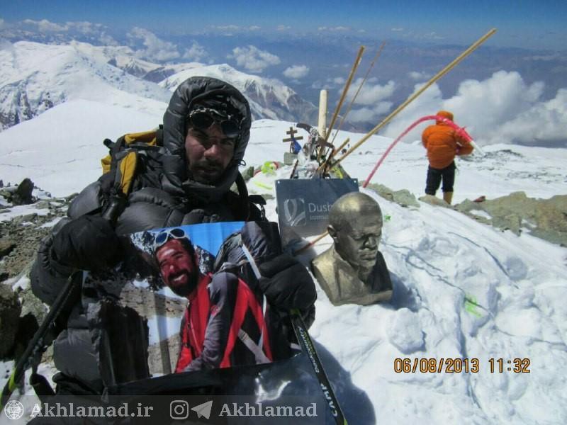 کوهنوردی؛ صعود نعمت فرخنده به هیمالیا، قله لنین
