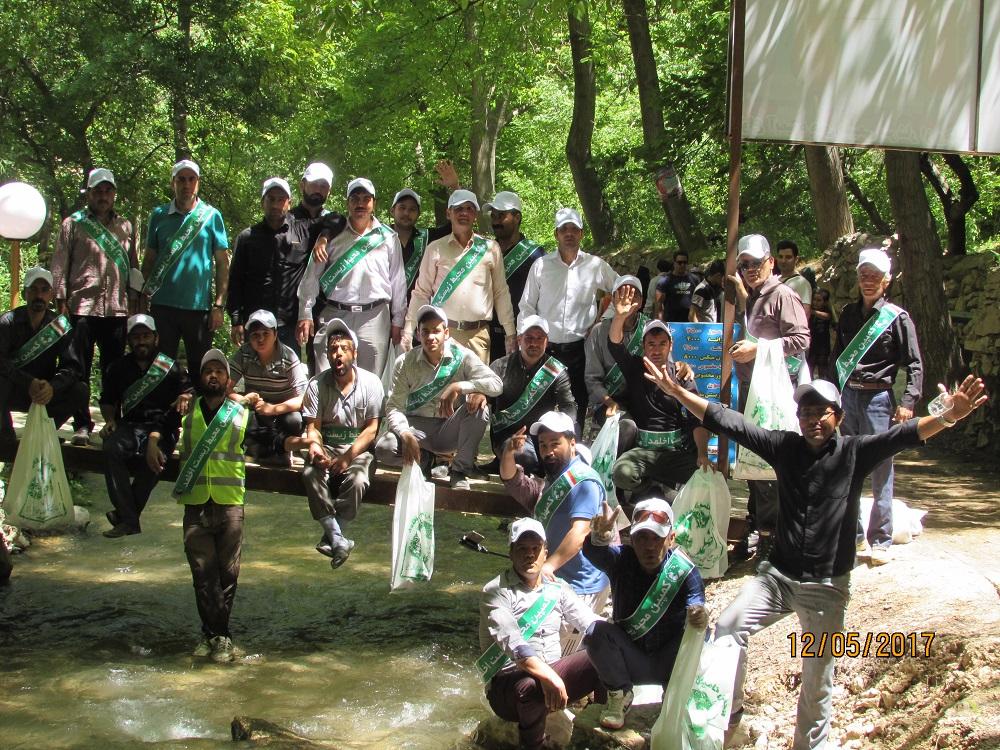 گزارش اولین عملیات اجرایی انجمن حامیان محیط زیست اخلمد